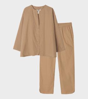 Pyjamas Poplin Tabacco
