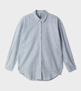 Aiayu - Shirt Slim Striped Indigo