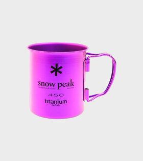 Snow Peak - Titanium Double Wall Cup 450 Purple
