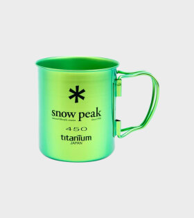 Snow Peak - Titanium Double Wall Cup 450 Green