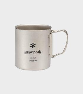 Snow Peak - Titanium Double Wall Cup 450 Mug