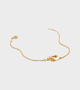 Vita Bracelet Goldplated