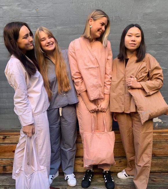 Aiayu - Pyjamas Poplin Tan