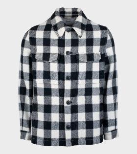 AMI - Veste Boutonnee Jacket Black/White