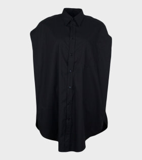 MM6 Maison Margiela - Poplin Shirt Black