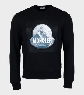 Girocollo Sweatshirt Black