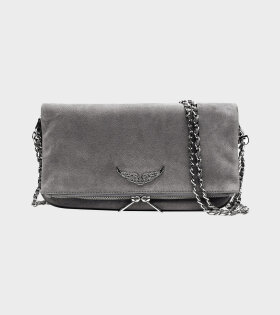 Zadig&Voltaire - Rock Suede Bag Grey