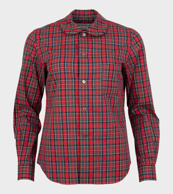 Comme des Garcons Girl - Ladies Checkered 2 Shirt Red