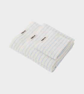 Bath Towel 70x140 Baby Blue Stripes