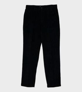 Our Legacy - Chino 22 Pants Black Corduroy