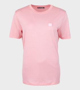 Ellison Face T-shirt Blush Pink
