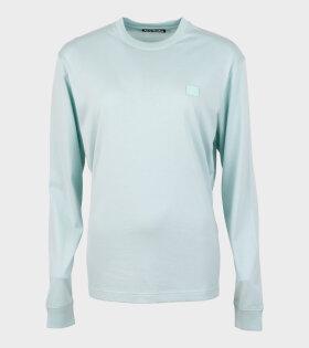 Eisen Face LS T-shirt Green