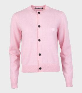 Kava Face Cardigan Blush Pink