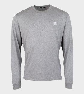 Eisen Face LS T-shirt Grey