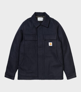 Carhartt WIP - Wool Arctic Coat Dark Navy