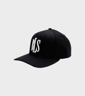 BLS - Classic Baseball Cap Black/White