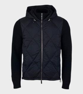 Moncler - Cardigan Tricot Jacket Black