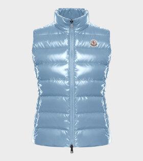 Moncler - Ghany Gilet Vest Blue