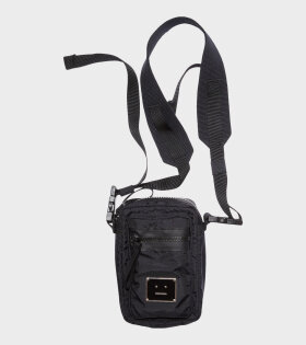 Arvel Plaque Face Bag Black