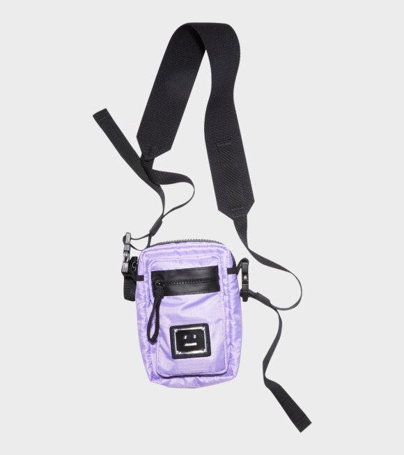 Acne Studios - Arvel Plaque Face Bag Lilac