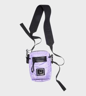 Arvel Plaque Face Bag Lilac