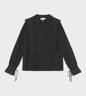 Daisy Shirt Black