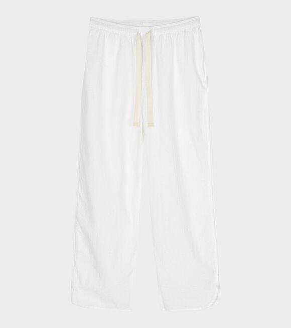 Aiayu - Pyjamas Seersucker White