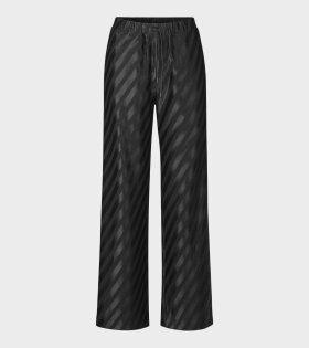 Stine Goya - Danny Diagonal Stripes Trouser Black