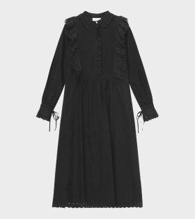 Daisy Shirtdress Black
