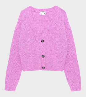 Ganni - Soft Wool Knit Purple