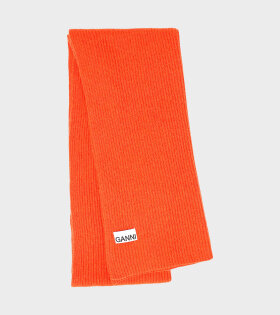 Ganni - Recycled Wool Knit Orange
