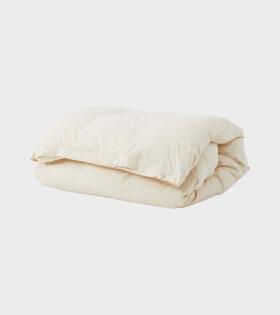 Percale Duvet Winter White