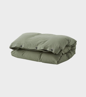 Tekla - Percale Duvet 140x200 Olive Green