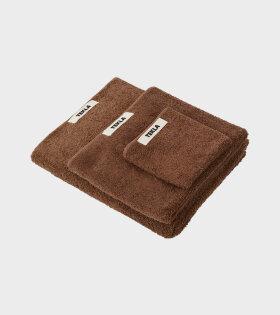Hand Towel 50x80 Kodiak Brown