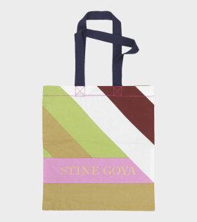 Rita Tote Bag Multistripes