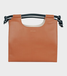 Marni - Leather Handbag Brown