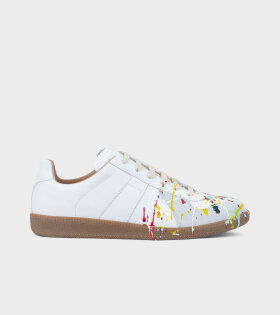 Replica Painted Sneakers White