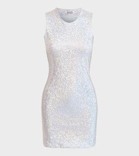 Saks Potts - Vision Dress Silver Shimmer