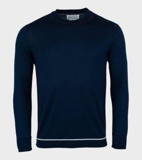 Thin Knit Navy