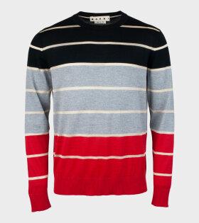 Marni - Striped Knit Multicolour
