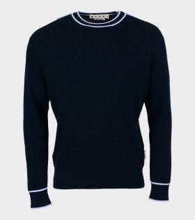 Marni - Regular Twist Knit Navy