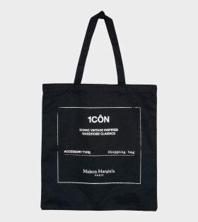 1CON Shopping Bag Black