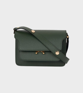 Marni - Mini Trunk Saffiano Bag Green