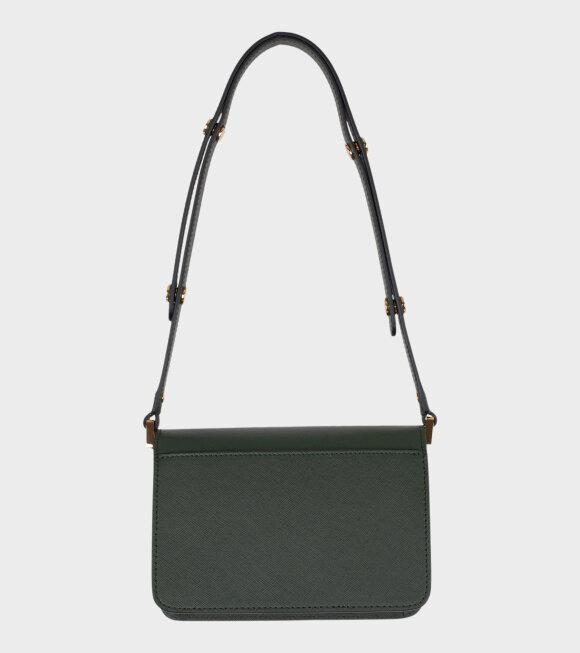 Marni - Mini Trunk Saffiano Bag Green