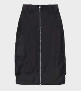 Ganni - Outerwear Nylon Skirt Black