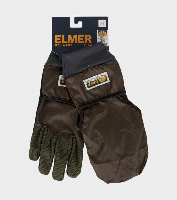Elmer By Swany - EM304 Gloves Brown/Khaki