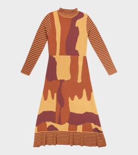 Helmstedt - Long Dress Yellow Glaze