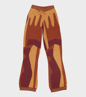 Helmstedt - Tie Pants Yellow Glaze