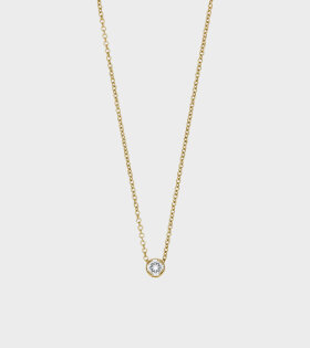 Diamant Simple Necklace Gold
