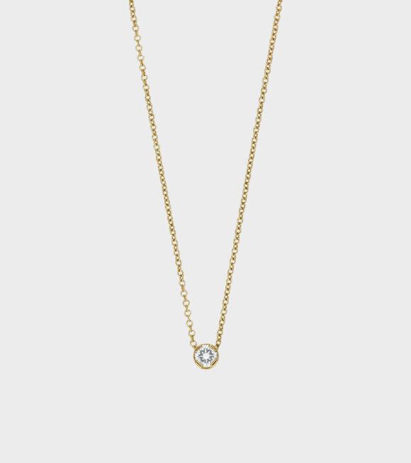 Sophie Bille Brahe - Diamant Simple Necklace Gold